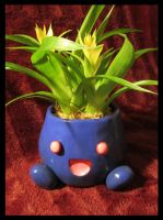 Oddish Flower Pot by Sara121089