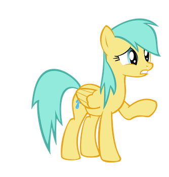 Raindrops MLP:FiM Oh noes by Alecza1234