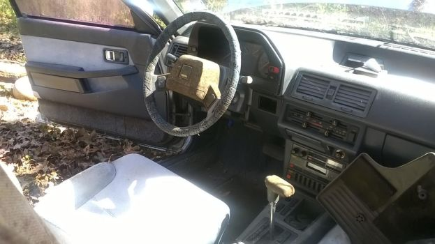 4 - 1985 Mazda 626 - Project Brony Mobile - Inside by hunterN05