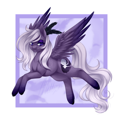 [gift] hi there, not-teen-titans raven by Mittz-The-Trash-Lord