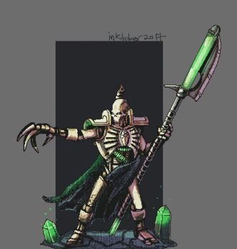 Necron Lord- gif by TomisJB