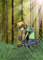 I will protect the saplings by Halestorm019