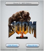 DOOM 3 BFG Edition - Icon by Crussong