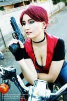 Claire Redfield Cosplay 3: Code Veronica by CLeigh-Cosplay