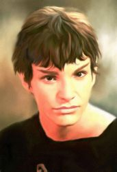 Young Spock by karracaz