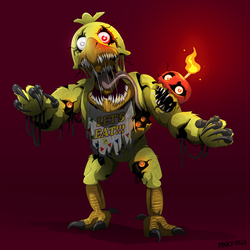 Twisted Chica by PinkyPills