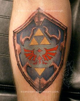 01.23.2014 hylian shield by koanodan