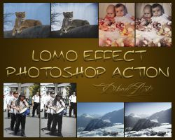 Lomo Effect Photosop Action by ysndkn