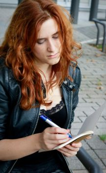 Drawing is Breathing- Clary by Marybellla