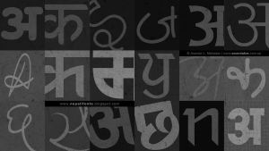 Ananda Nepali Fonts Collection by lalitkala