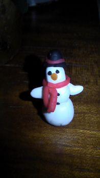 Frosty the play-doh-man by Umeka1