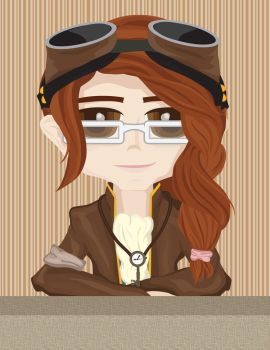 The Steampunk Me by 23skyblucita