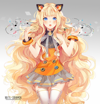 [SPEEDPAINT] SeeU [The3rdRedraw] by Natx-chan