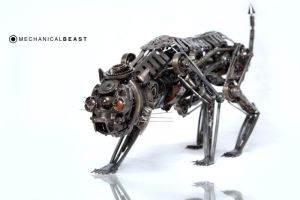 MECHANICAL BEAST closer by ironheartram
