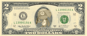 Dororo $2 Bill by TheFreeze812