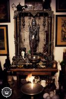 Altar of the Unconquerable Queen by Hellfurian-Guard