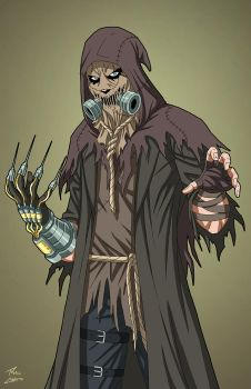 Scarecrow (Earth-27: Enhanced) commission by phil-cho