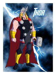 Cam's MAU Thor 3.0 by TheScarletMercenary