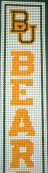 Baylor Bears Bookmark by celestialqueen24