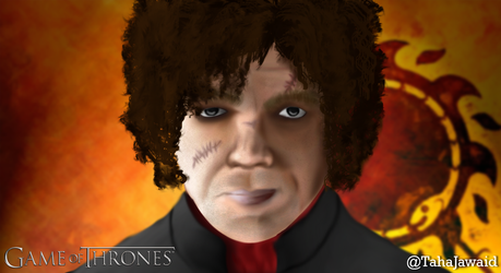 Tyrion Lannister - Digital Painting by TahaJawaid