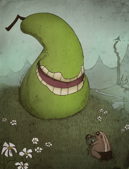 The Biting Pear Of Salamenca by Atlas-White