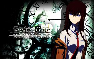 Steins~Gate Wallpaper By Nova by NovaDarkMadness