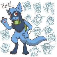 Doodles: Xael by Snapinator