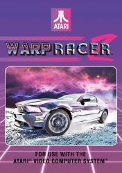 Warp Racer 2 Atari Cover Art by bourboncream