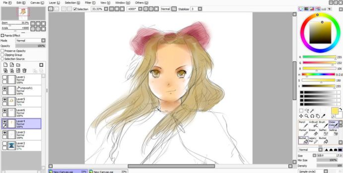 Another WIP?! Renge-ouran by MANGAfan0001