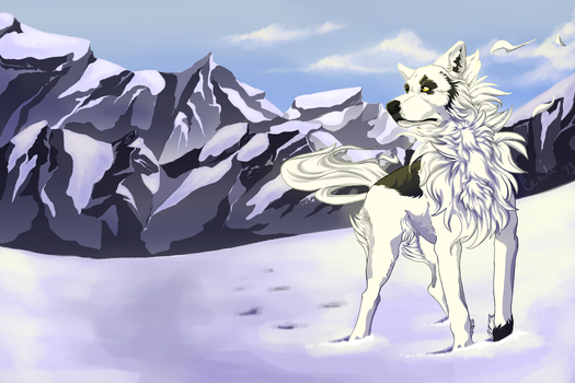 Long Road Ahead [COMMISSION] by QueenAphie