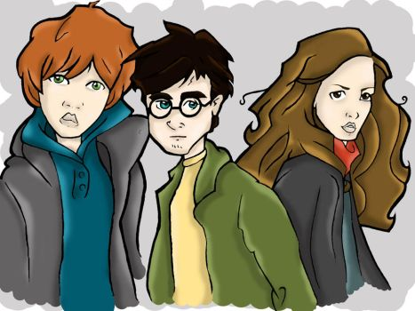 The Hogwarts Gang by Captivatingmystery