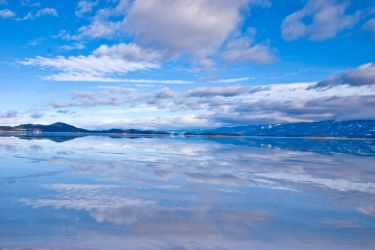 Flathead Lake at Polson by quintmckown