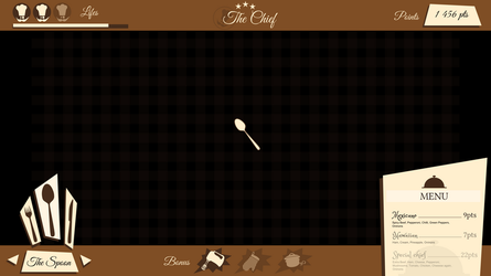 Cook game GUI by Syg-Majji