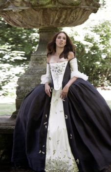 Outlander ** Claire's wedding dress ** by Firefly182