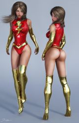 Character Reference Mary Marvel v3 by tiangtam
