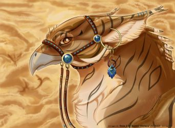 The gryphon Ikaros by Windshade888