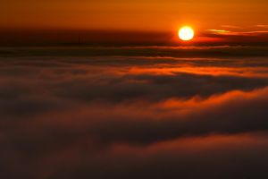 sea of fog by mescamesh