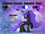 [Commission] Princess Galaxia Reference Sheet by Veemonsito
