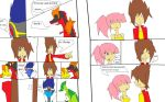dinosaur king ep 80 pages  9 and 10 by imyouknowwho