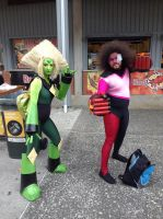 Supanova 2017: Garnet and Peridot by FFiamgoku