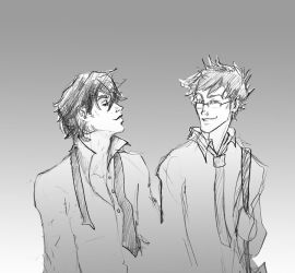 Sirius and James by HILLYMINNE