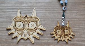 Majora's Mask Necklace by StarryEvening