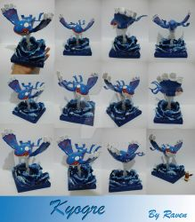 Kyogre estatue by allocen