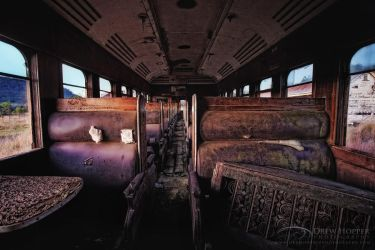 Ghost Train by DrewHopper