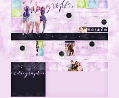 Layout ft. Little Mix by Andie-Mikaelson