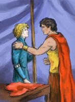 Damianos and Laurent (Captive Prince) by AnotherStranger-Me