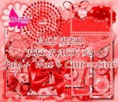 Res Pack #2 [All Red] [Free] by ThisIsJoy13