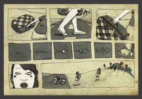 the girl with the suitcase 2 by mathilde