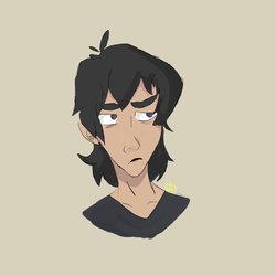 Keith Kogane (Voltron) by Vykxen