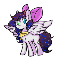 Lunacorn + Breezy Fusion by Myumimon